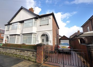Thumbnail 3 bed semi-detached house for sale in Moorcroft Road, Wallasey