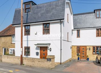 Thumbnail 3 bed detached house for sale in Hall Cottages, Harlow Road, Roydon, Essex