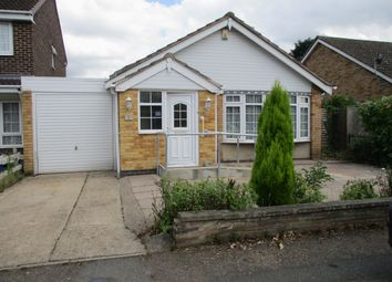 Thumbnail 2 bed bungalow for sale in Coles Close, Leicester