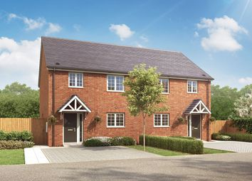 """Thumbnail 3 bed semi-detached house for sale in """"The Sapcote"""" at Loughborough Road, Rothley, Leicester"""