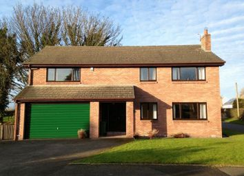 Thumbnail 4 bed detached house for sale in Evening Hill, Thursby, Carlisle