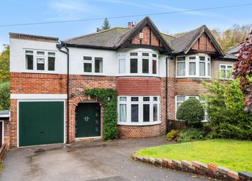 Thumbnail 5 bed semi-detached house for sale in Tithepit Shaw Lane, Warlingham, Surrey