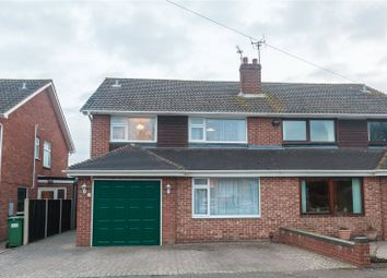 Thumbnail 4 bed semi-detached house for sale in Brookfield Road, Hucclecote, Gloucester