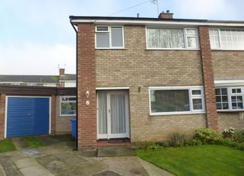 Thumbnail 3 bed semi-detached house for sale in Kempton Close, Ipswich