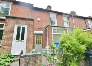 Thumbnail 2 bedroom terraced house for sale in Bowthorpe Road, Norwich