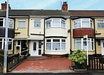 Thumbnail 4 bedroom terraced house for sale in Etherington Road, Hull