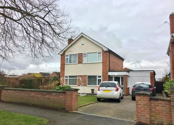 Thumbnail 4 bed detached house to rent in Hawton Road, Newark