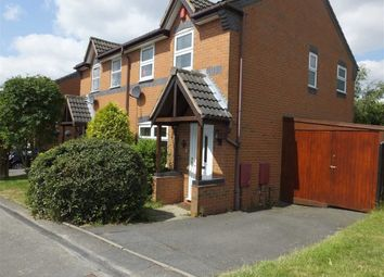 Thumbnail 3 bed semi-detached house to rent in Bishops Gate, Swadlincote, Derbys