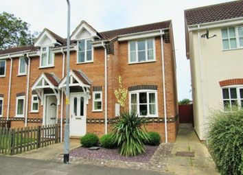 Thumbnail 3 bed terraced house to rent in Bradley Close, Louth