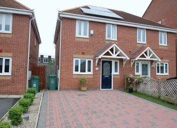 Thumbnail 3 bed semi-detached house for sale in Darbyshire Close, Thornaby, Stockton-On-Tees