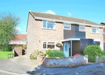 Thumbnail 3 bedroom semi-detached house for sale in Lancaster Close, Hungerford