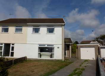 Thumbnail 3 bed semi-detached house for sale in Hilary Way, Nottage, Porthcawl