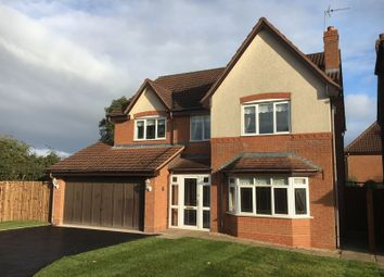 Thumbnail 4 bed detached house for sale in Maythorn Gardens, Codsall, Wolverhampton