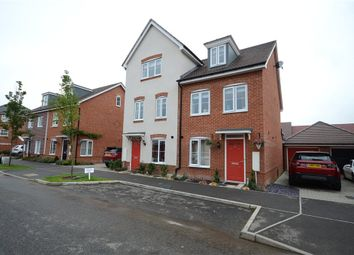 Thumbnail 3 bedroom semi-detached house for sale in Clover Rise, Woodley, Reading