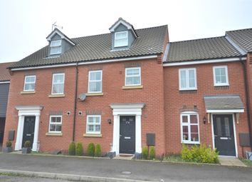 Thumbnail 4 bed terraced house for sale in Fred Ackland Drive, King's Lynn