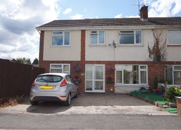 Thumbnail 4 bed semi-detached house for sale in The Meadows, Usk