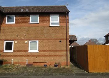 Thumbnail End terrace house for sale in Pear Tree Gardens, Market Harborough