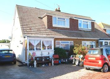 Thumbnail 3 bed semi-detached house for sale in Baldwin Road, Greatstone, New Romney, Kent