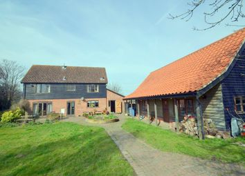 Thumbnail 4 bedroom detached house for sale in Melford Road, Lawshall, Bury St. Edmunds