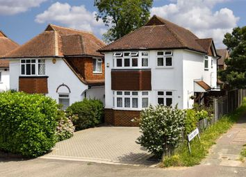 Thumbnail 3 bed detached house for sale in Merland Rise, Epsom Downs, Surrey