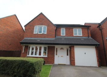 Thumbnail 4 bed detached house for sale in Dee Close, Hilton, Derby
