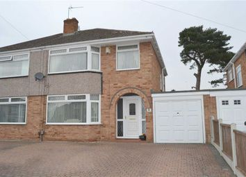Thumbnail 3 bed semi-detached house for sale in Whitelodge Close, Bromborough, Wirral