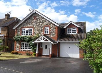 Thumbnail 4 bed detached house for sale in East Park Farm Drive, Charvil, Reading