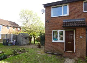 Thumbnail 1 bed semi-detached house to rent in Marsh Way, Penwortham, Preston