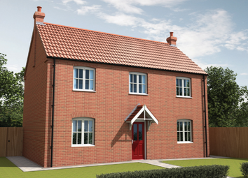 Thumbnail 3 bed detached house for sale in Curtis Drive, Coningsby, Lincolnshire