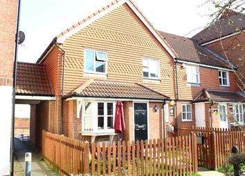 Thumbnail 2 bed end terrace house for sale in Falmouth Close, Eastbourne