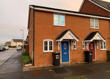 Thumbnail 2 bed semi-detached house to rent in Battalion Way, Thatcham