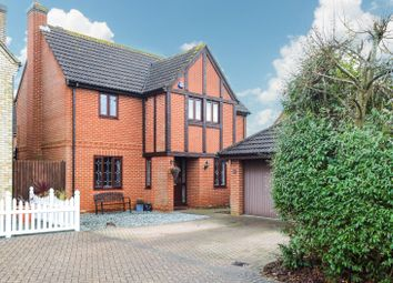 Thumbnail 4 bed detached house for sale in Pine Avenue, Dunmow, Essex