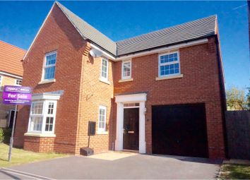 Thumbnail 4 bed detached house for sale in Wellington Drive, Doncaster