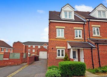 Thumbnail 3 bed town house to rent in Bellflower Close, Whitwood, Castleford