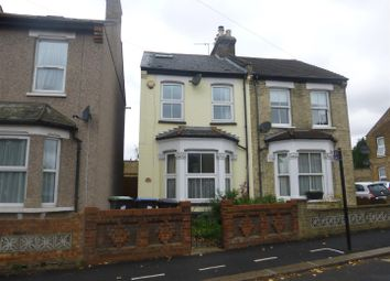 Thumbnail 2 bed semi-detached house to rent in Browning Road, Enfield