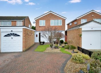 Thumbnail 3 bedroom detached house for sale in Western Avenue, Fleckney, Leicester