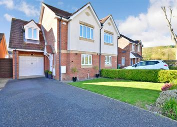 Thumbnail 3 bed semi-detached house for sale in Peregrine Close, Hythe, Kent