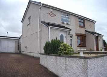 Thumbnail 2 bed semi-detached house for sale in Selkirk Way, Coatbridge