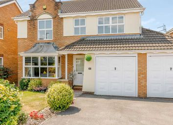 Thumbnail 4 bed detached house for sale in Windsor Close, Magor, Caldicot