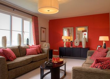"Thumbnail 3 bed terraced house for sale in ""The Fairley Mid"" at Old Lang Stracht, Kingswells, Aberdeen"