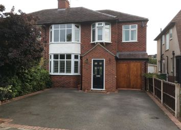 Thumbnail 4 bed semi-detached house for sale in Oakfield Road, Copthorne, Shrewsbury