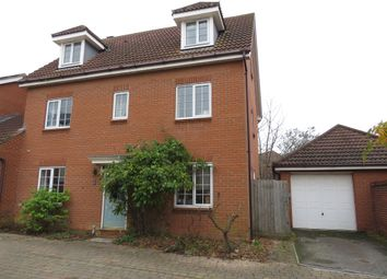 Thumbnail 6 bed detached house for sale in Chaffinch Road, Bury St. Edmunds