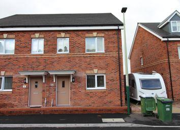 Thumbnail 2 bed semi-detached house for sale in Swallow Drive, Fleur De Lis, Blackwood