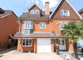Thumbnail 4 bed end terrace house to rent in Lower Green Gardens, Worcester Park