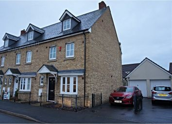 Thumbnail 4 bed end terrace house for sale in Worle Moor Road, Weston-Super-Mare