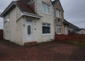 Thumbnail 2 bed semi-detached house to rent in Fraser Street, Motherwell