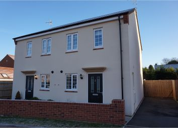 Thumbnail 2 bed semi-detached house for sale in Gaskell Way, Barford