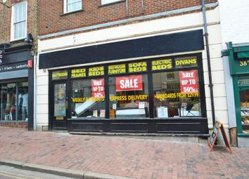 Thumbnail Commercial property to let in High Street, Sittingbourne, Kent.