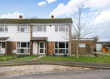 Thumbnail 3 bed terraced house for sale in Church Close, Longcot, Faringdon
