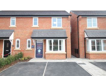 Thumbnail 3 bed semi-detached house for sale in Brooklands Development, Marsh Lane, Holmes Chapel, Crewe